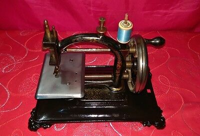 "Antica macchina da cucire Guhl&Harbeck ""Original espress"" old sewing machine"