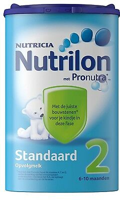 4 X Nutrilon 2 standard (4x850 gram) -100% original Dutch Baby Powder Milk