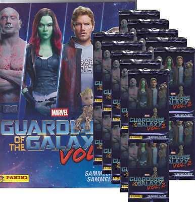Panini - Marvel Guardians of the Galaxy Vol.2 - 20 Booster +1 Starterset-Deutsch