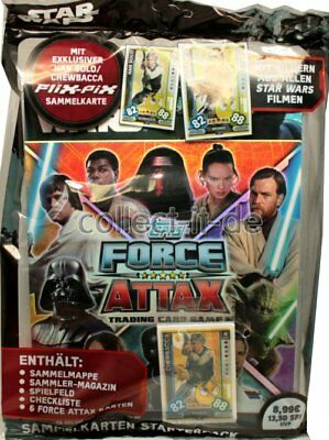 TOPPS Force Attax - Star Wars - Universe - Starter - Deutsch