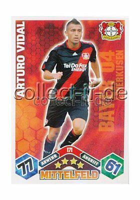 Match Attax 10/11 - 171 - ARTURO VIDAL