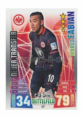 Match Attax Extra 15/16 MX-477 - Marco Fabian - Neue Transfers