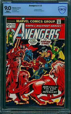 Avengers # 112  First appearance of Mantis !  CBCS 9.0 scarce book !