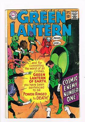 Green Lantern # 55 Cosmic Enemy Number One ! grade 3.0 scarce book !!