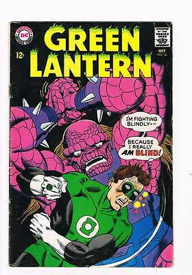 Green Lantern # 56 Green Lantern's Fight for Survival ! grade 4.5 scarce book !!
