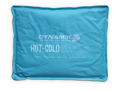 Dynamik Luxury Reusable Hot/Cold Gel Pack for Pain Relief - Extra Large 28x36cm