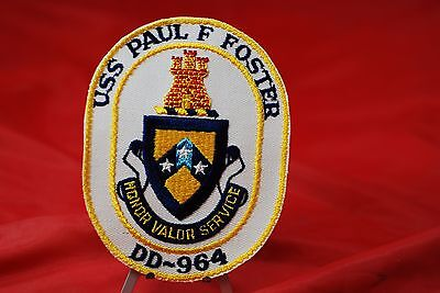 Dd-964  U.s.s. Paul F. Foster Patch - #m08617