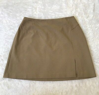The Limited Women's Brown Career Pencil Skirt Above Knee Size 8
