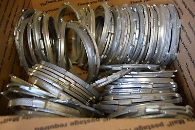 "16 Pound Box 4"" Assorted Conduit Locknuts 55+ Pieces Electrical Lock Nuts"