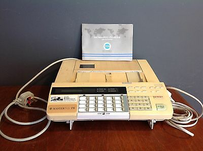 Retro Vintage Fax Machine GPT Master Fax 170 With Instruction Booklet.
