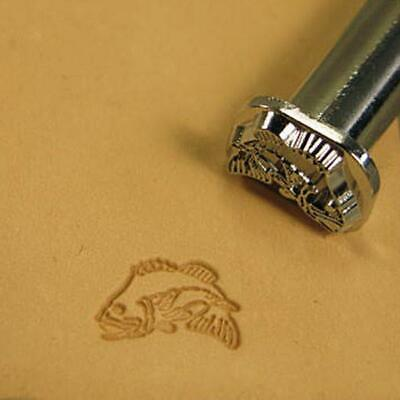 Bass Fish 2-D Leather Stamp F114
