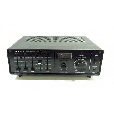 Realistic MPA‑90 100 Watt Public Address Amplifier ‑ 32‑2024