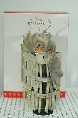 Gringotts Wizarding Bank Hallmark Ornament 2017 Harry Potter~Free Ship In Us