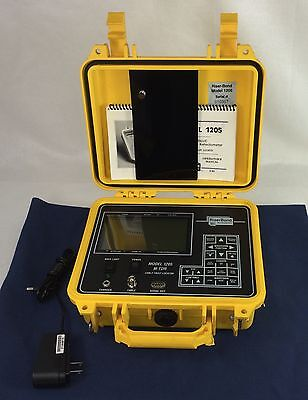 Riser Bond Instruments 1205 M-TDR Cable Fault Locator Time Domain Reflectometer