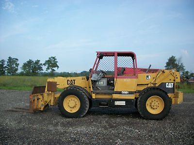 CATERPILLAR TH103 Telescopic forklift, OROPS, 10,000# cap, 44FT reach, 6,254hrs