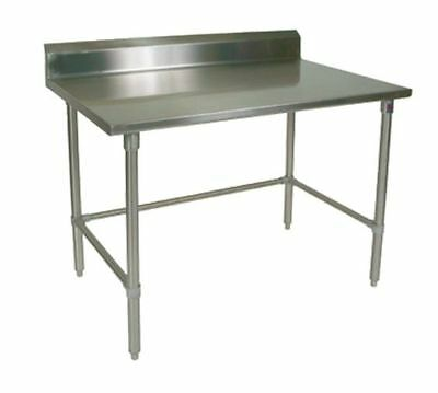 "Work Table,  30"" - 35"", Stainless Steel Top, John Boos ST6R5-3030SBK-X"