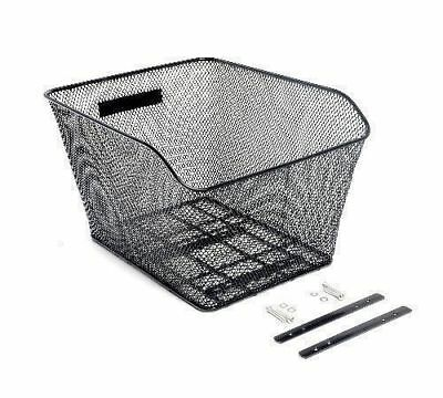 Bike Basket Wire Mesh Bike Basket For Extra Rear Storage