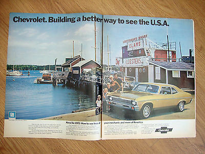 1972 Chevrolet Nova Coupe at East Boothbay, Maine Ad