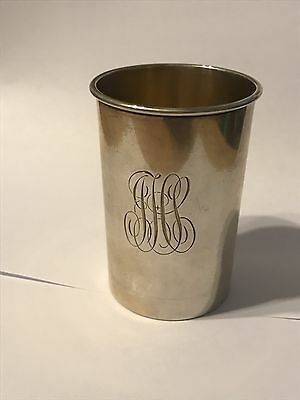 Antique The Cowell & Hubbard Co. Sterling Silver Cup Rare