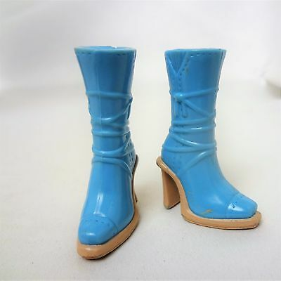 My Scene Barbie Doll Blue Boots