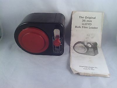 LLOYDS DAYLIGHT FILM LOADER (BULK 35mm) w/ Instructions