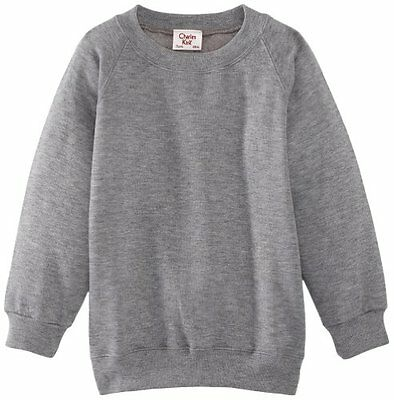 (TG. C42 IN- UK) Grigio (Dark Grey) Charles Kirk Coolflow - Felpa, colletto tond