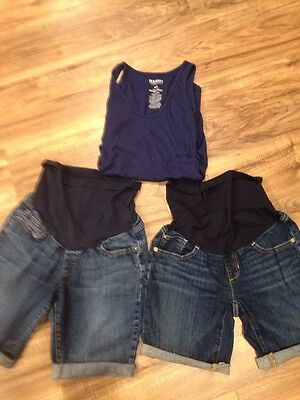 Motherhood Maternity Cut Off Shorts Lot