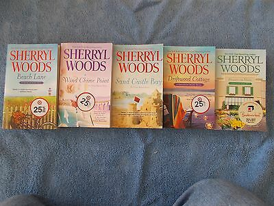 Lot of 5 Sherryl Woods Paperbacks-Very nice shape