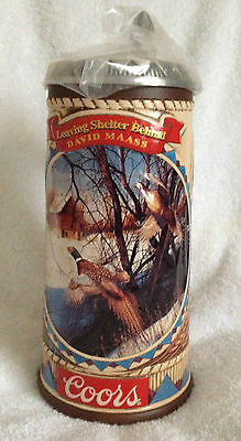 """NIB Coors Stein Game Birds of the Wild  Pheasants """"Leaving Shelter Behind"""" COORS"""