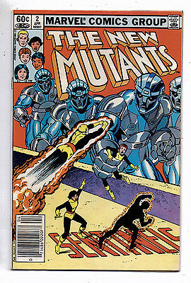 The New Mutants #2(F-VF) and #4(VF),  Marvel, 1983