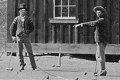 RARE Billy The Kid Outlaw Killed Gun Slinger 1870s Vintage Photo 4x6 Image 1123
