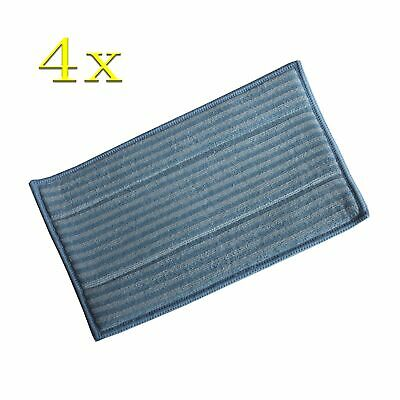 4Pcs Replacement Washable mop pad for HAAN SI-25 SI-40 SI-45 SI-60 SI-70