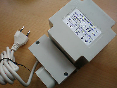 230 volts to 115 voltstep down Transformer 4 amp FA 179-01 Europe-USA Z161