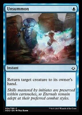 4x Controevocazione - Unsummon MTG MAGIC HOU Eng/Ita