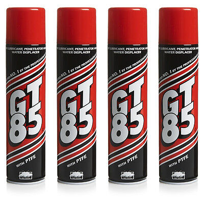 4 x GT85 Lubricant With PTFE Spray 400ml Cans