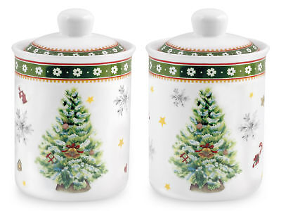 HOME Porcelain Jar Christmas Decoration Lt0,18 Kitchen Utensils