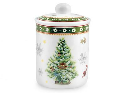 HOME Porcelain Jar Christmas Decoration Lt0,80 Kitchen Utensils