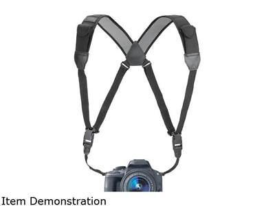 TrueSHOT DSLR Camera Chest Harness Strap Kit with Comfort Padding and Quick Rele