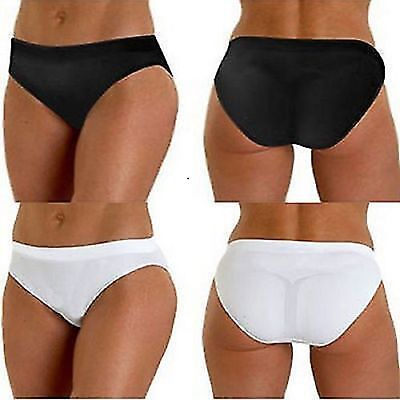 2 Pairs More Mile Rio Performance Womens Seamless Sports Running Briefs MM1625/6