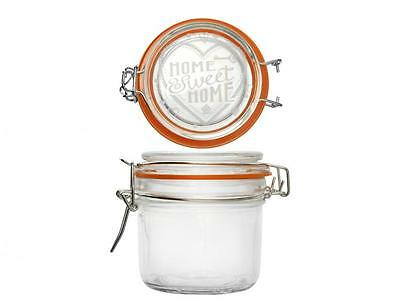 HOME 6 Jars Glass Sweethome Decor 200 Cc Made In Italy