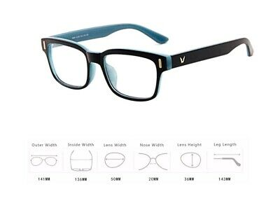 Hot Fashion Mens Womens Retro Clear Lens Glasses Frame Eyewear Unisex - Gray