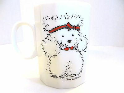 Vintage Dayton Hudson Double Sided Santa Bear Coffee Mug 1987 FREE SHIPPING