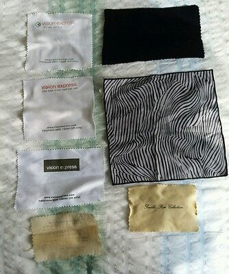 Job Lot Of Cleaning Cloths For Spectacles