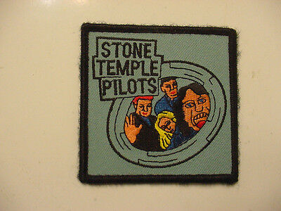 """Vintage Stone Temple Pilots Embroidered 90's Rock-Iron On Patch- 3""""x3"""""""