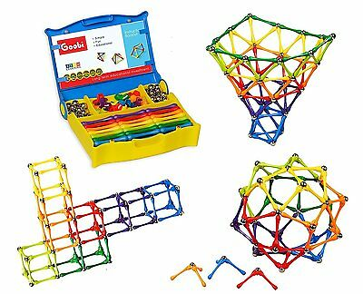 Goobi 180 Piece Construction Set with Instruction BookletSTEM LearningNew
