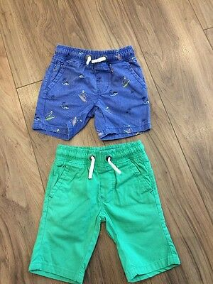 Set Of Boys Shorts From Next, Age 3 Years.