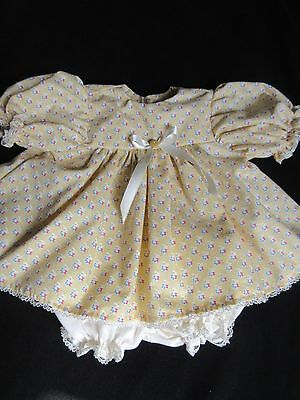 "2 Piece  Dress Set For 18"" Vintage Vogue Baby Dear Doll"