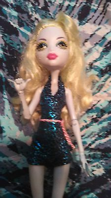 Monster High WHEEL LOVE 1st Wave LAGOONA doll's CLOTHES no SHOES lot ft Skelita