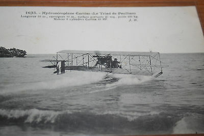 CPA Avion aeroplane Hydravion Curtiss Le Triad  Ed JH N°  1635  3/45