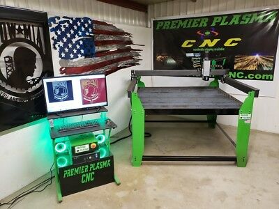 CNC PLASMA CUTTING 4x4 Table PREMIER Plasma 2017 MADE IN USA W/ Floating Head